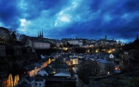 Luxembourg by night