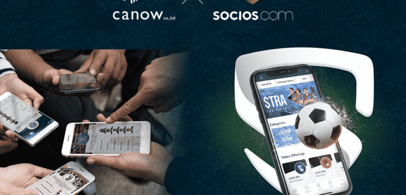 Socios.com Partners With canow Co. Ltd. To Bring Tokenized Fan Engagement
