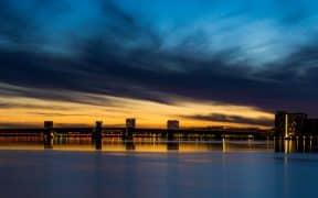Aalborg by night