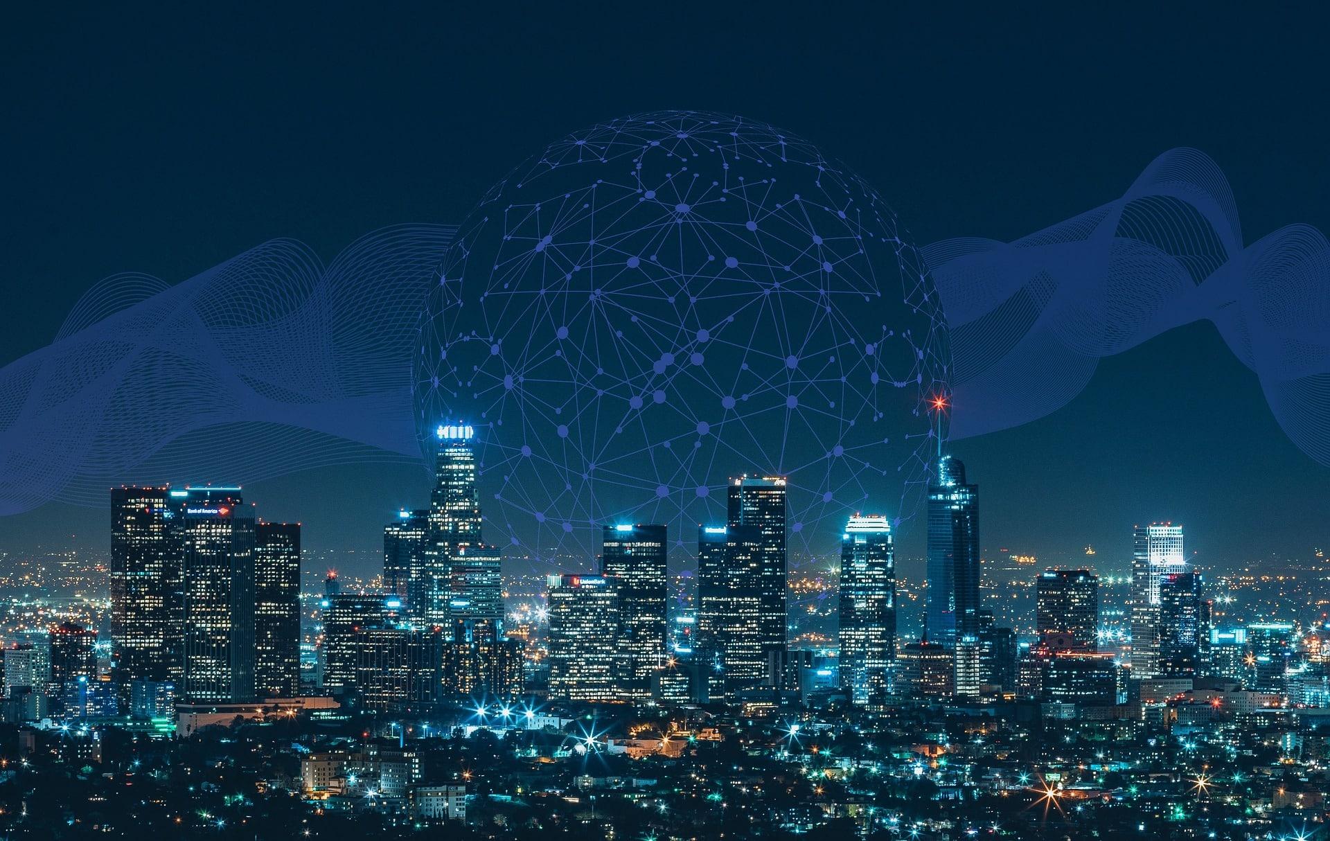 Smart City by Night